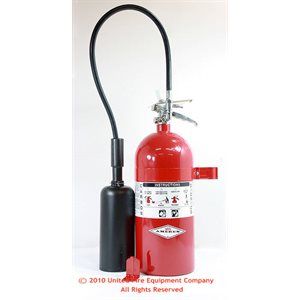 Amerex 10 lb CO2 Fire Extinguishers