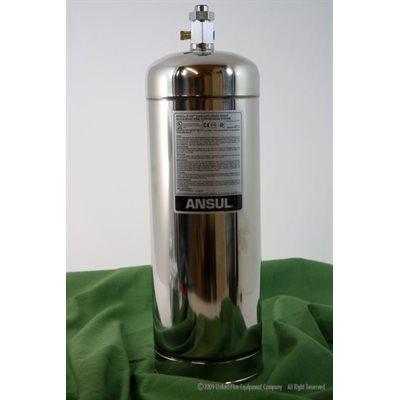 Ansul R 102 3 Gallon Stainless Steel Tank