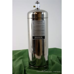 Ansul R-102 3 Gallon Stainless Steel Tank