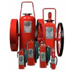 Ansul  Wheeled Fire Extinguisher