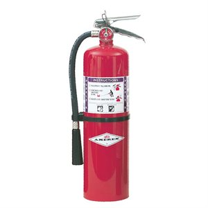 Amerex B460, 10lb BC Purple K Dry Chemical Fire Extinguisher