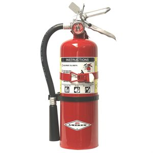 Amerex B500T, 5 LB ABC Dry Chemical Extinguisher (w /  vehicle bracket)