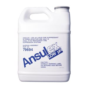 Ansul 79694, 1.5 Gallon Ansulex R-102 Low pH Wet Chemical Agent