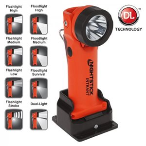 INTRANT™ Intrinsically Safe Dual-Light™ Angle Light - Rechargeable