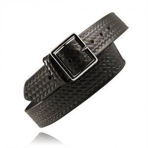 Boston Leather BasketWeave Belt
