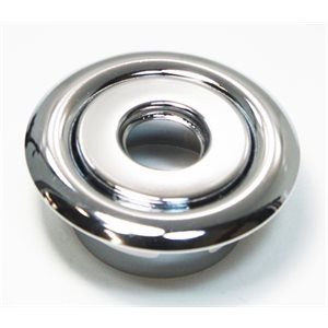 Globe Chrome Escutcheon