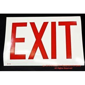 Brooks Exit Sign