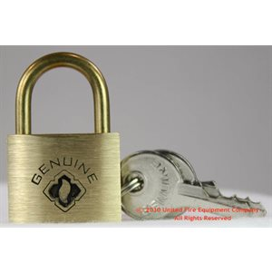 Brooks Brass Padlock