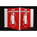 Brooks Fire Extinguisher Sign