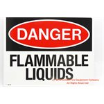 Flammable Liquids Sign