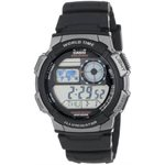 Casio Silver-Tone and Black Digital Sport Watch