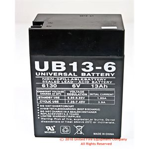 General Power 6V 13amp Battery