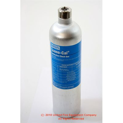 MSA Calibration Gas Cylinder